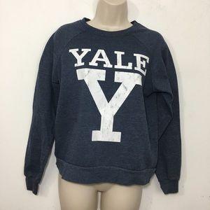 Yale university sweatshirt Heathered blue small